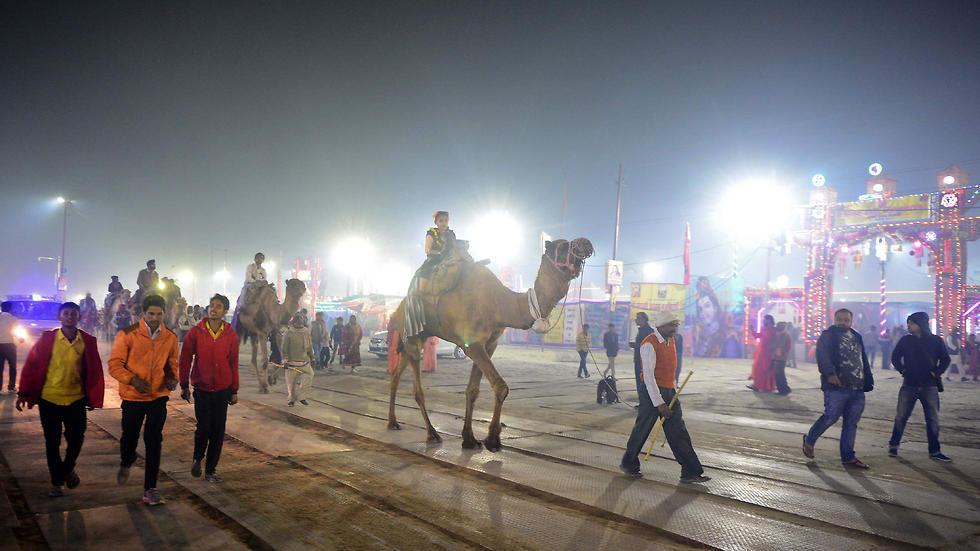 פסטיבל קומבה מלה (צילום: AFP)