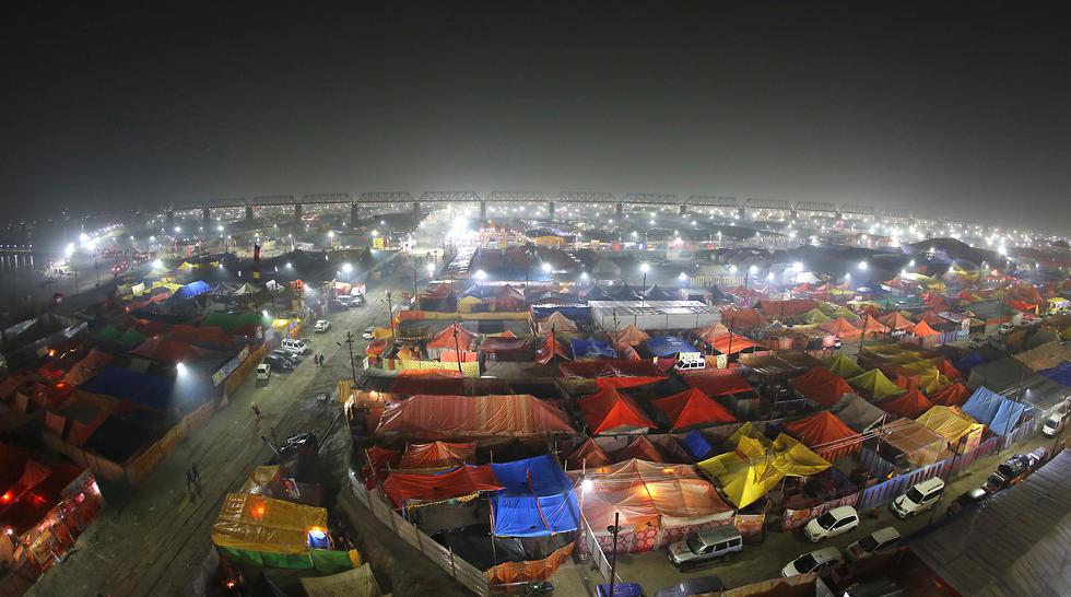 פסטיבל קומבה מלה (צילום: AP)