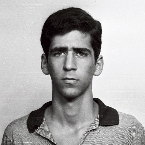 Kochavi on his IDF enlistment day