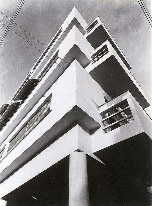 """כך זה נראה במקור (צילום: באדיבות """"ארכיון מרכז רכטר לאדריכלות"""")"""