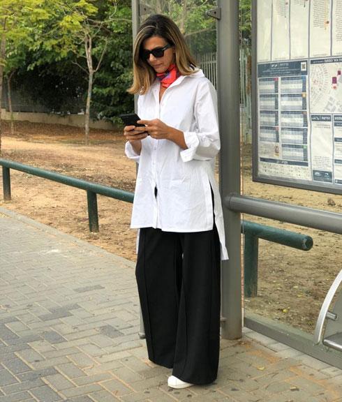 דורין פרנקפורט מארחת את מיכל עזר בחיפה. 20 אחוז הנחה על כל הפריטים בחנות (צילום: מיה סטיין)