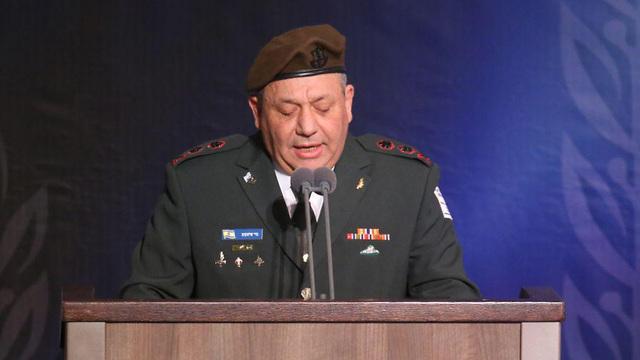 Outgoing IDF chief Gadi Eisenkot (Photo: Motti Kimchi)