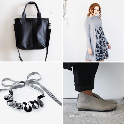 מכירת מעצבים בכיכר הבימה. נעליים של Walk, בגדים של קאשה, תכשיטים של Gioielli by Liat ותיקים של סמדר שני (צילום: ענת דהרי)