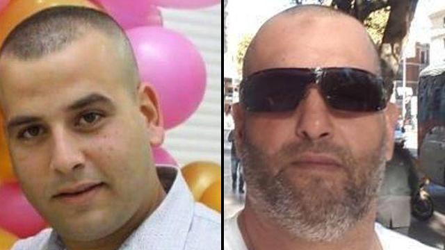 רצח כפול בטירה הרצחים עבד אלחי בן 27 ואשרף פדילי בן 43 ()