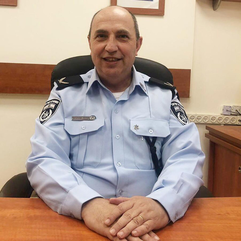 תנ״צ אמנון אלקלעי משטרת ישראל (צילום: דוברות המשטרה)