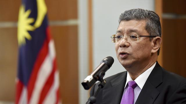 Malaysian Foreign Minister Saifuddin Abdullah (Photo: AP) (Photo: AP)