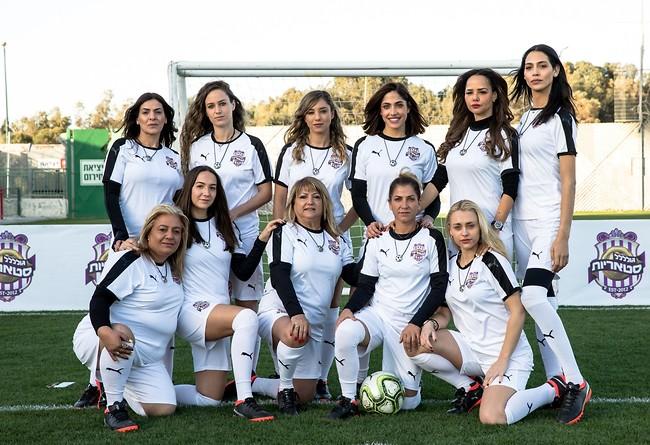 בנות הנבחרת (צילום: אוהד קב)