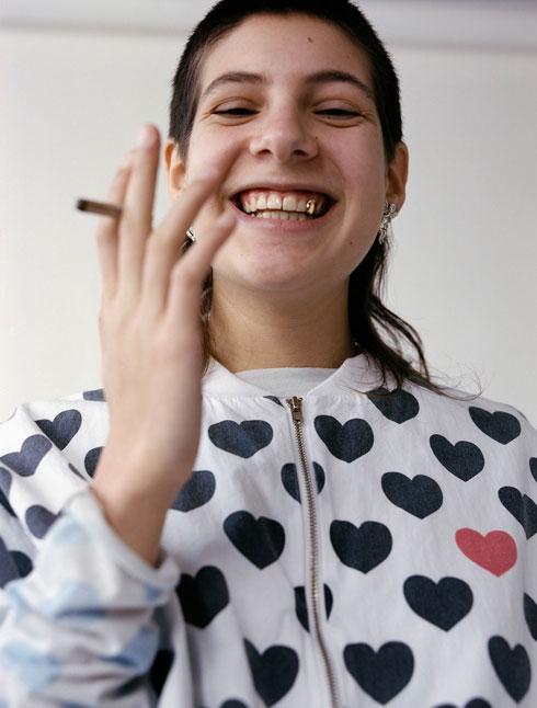 צילום למעצבת האופנה רוני בר (צילום: אסף עיני)