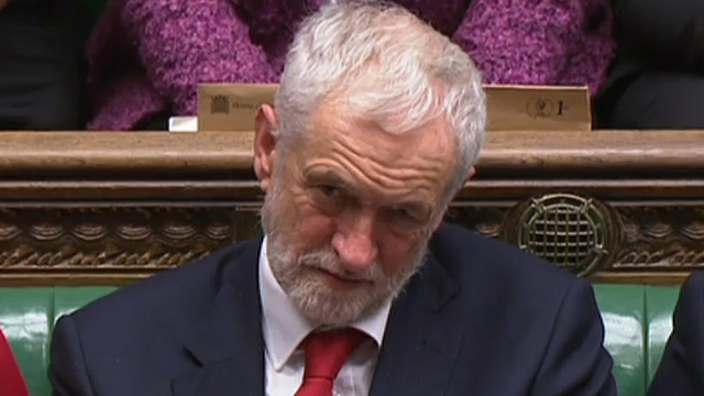 Jeremy Corbyn, leader of Britain's opposition, who once called Hezbollah 'friends' (Photo: AFP)