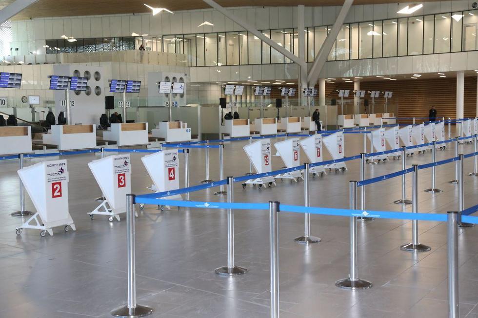 Ramon International Airport terminal (Photo: Motti Kimchi)