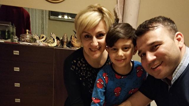אמיל אורחן, אחותו ואחיינו ()