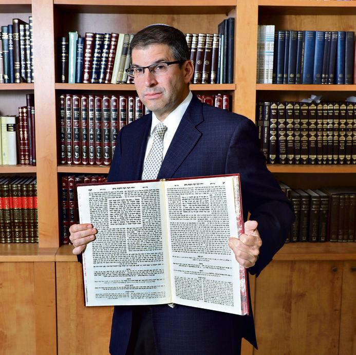 Rabbi Dr. Shaul Farber (Photo: Dana Kopel)
