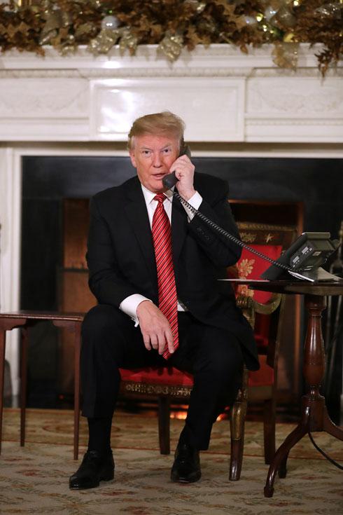 רזון או פאסון? הסוף לתעלומת העניבות הארוכות של דונלד טראמפ. לחצו על התמונה לכתבה המלאה (צילום: Chip Somodevilla/GettyimagesIL)