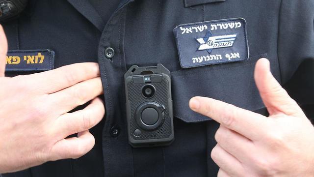 השקה מצלמה מצלמת גוף משטרה  (צילום: מוטי קמחי)