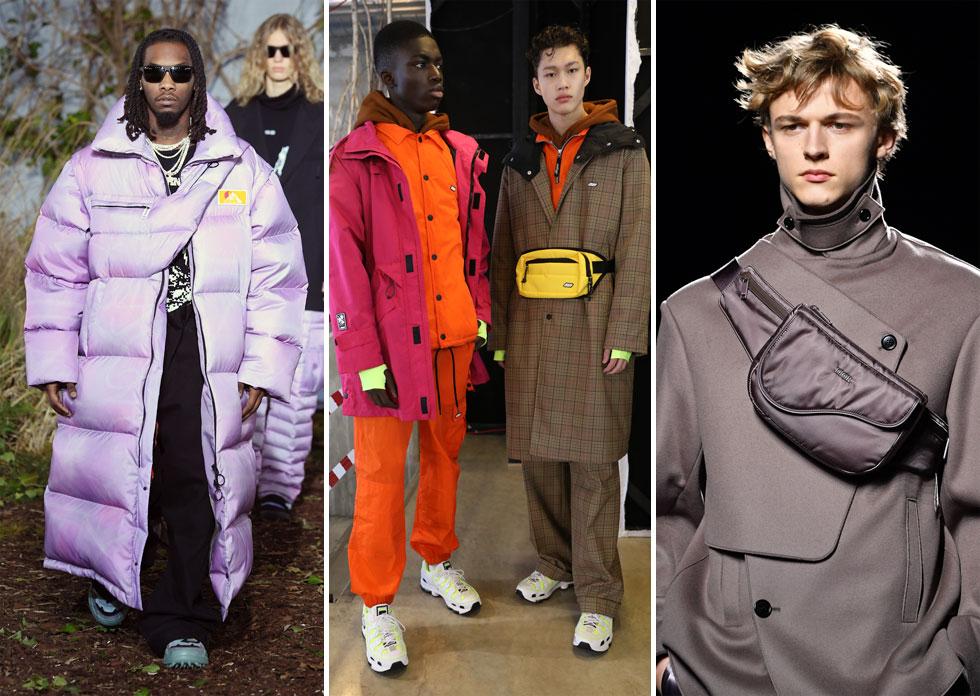 לא נס לחו של הפאוץ', שבשנתיים האחרונות זוכה לקאמבק אופנתי. מבין כל בתי האופנה שהציגו פרשנות לפריט העונה, הכנסנו לרשימת הקניות הדמיונית שלנו את הפאוץ' החדש של דיור (מימין), העשוי בד סאטן מבריק בצורה המזכירה את תיק האוכף המפורסם של המותג  (צילום: Tristan Fewings,Pascal Le Segretain/GettyimagesIL)
