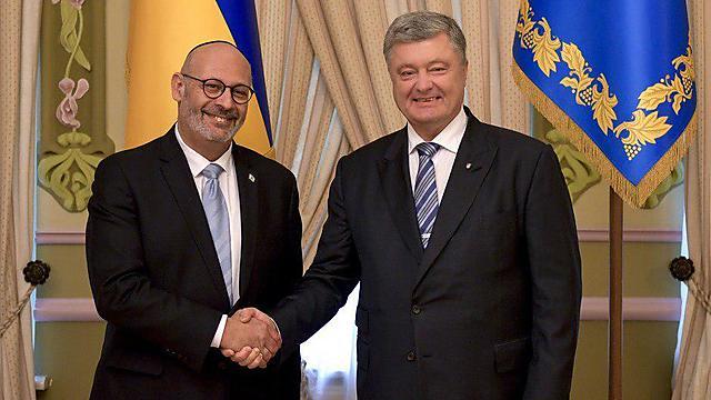 יואל ליאון (צילום: ארמון הנשיאות באוקראינה)