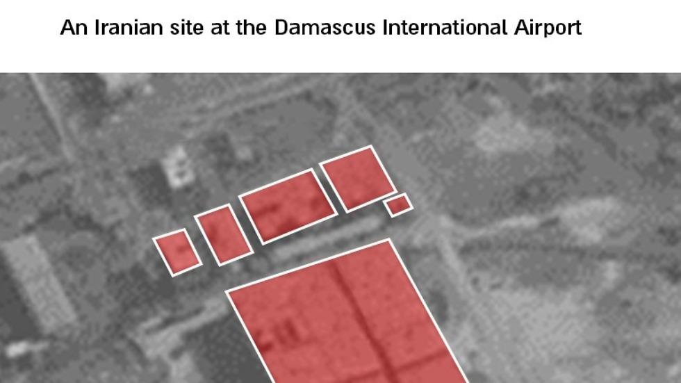 IDF airstrike in Syria (Photo: IDF Spokesperson's Unit)