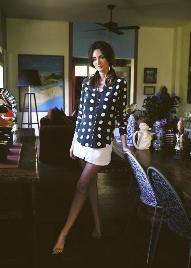 חולצה, Equipment בדניאלה כיכר המדינה   חצאית, מיס נורי (צילום: רותם לבל)