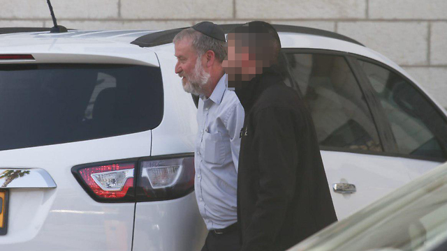 Attorney General Avichai Mandelblit on his way to the meeting (Photo: Ohad Zwigenberg)