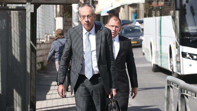 Navot Tel-Zur, the head of Netanyahu's legal team (Photo: Ohad Zwigenberg)
