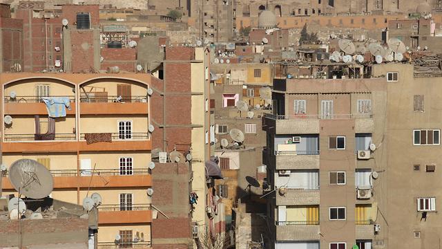 A neighborhood in Cairo, the Egyptian capital (Photo: Shutterstock)