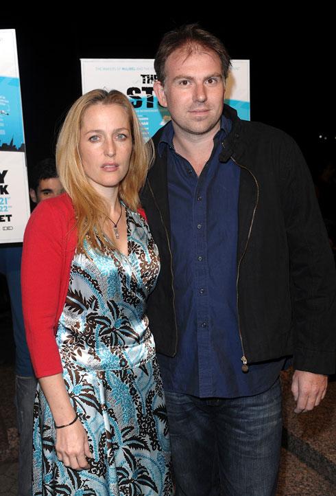אנדרסון עם בעלה השלישי, מארק גריפיתס (צילום: AP)