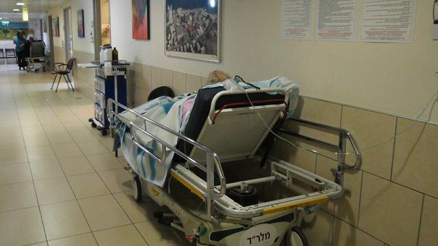 עומסים במחלקות הפנימיות בבית החולים רמב