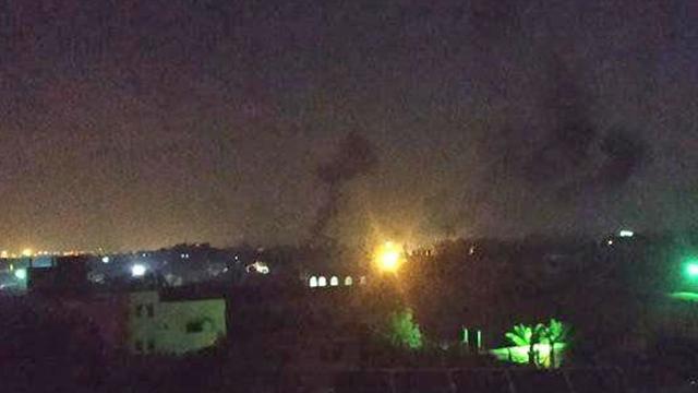 IDF strike in Gaza