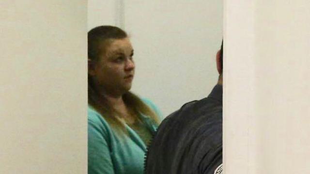 Обвиняемая Инна Скибенко в суде. Фото: Моти Кимхи
