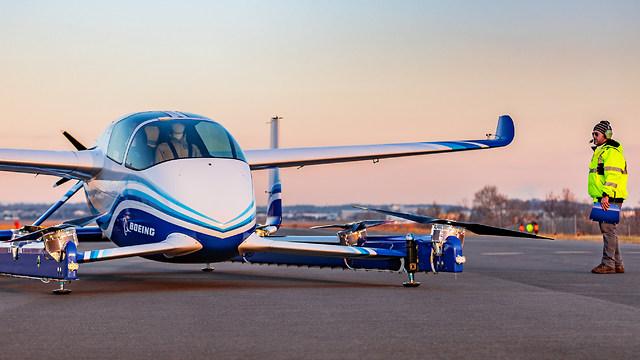 מטוס הנוסעים ללא טייס של בואינג (צילום: בואינג)