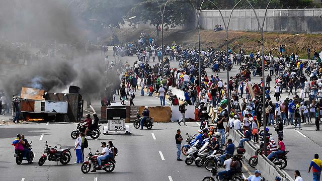 Riots in Venezuela (Photo: AFP)