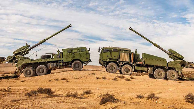 New Elbit Systems ATMOS artillery gun (Photo: Elbit Systems)