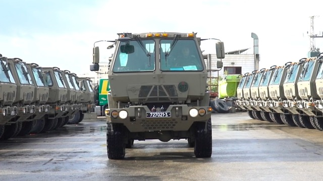 Tactical trucks (Photo: IDF Spokesman)