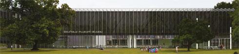 השנה מצטרף גם מוזיאון באוהאוס נפרד לעיר. זו הדמיית ההצעה שזכתה בתחרות הבינלאומית
