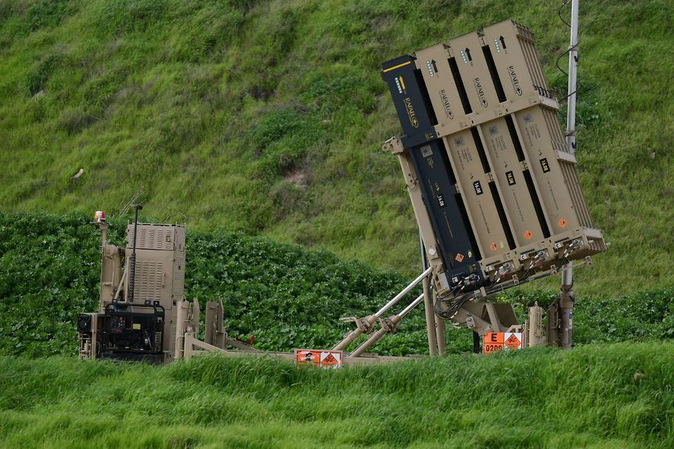 Iron Dome battery in central Israel (Photo: Motti Kimchi)