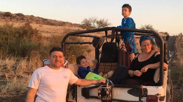 משפחת עברי עבאדי (צילום: אלבום פרטי)
