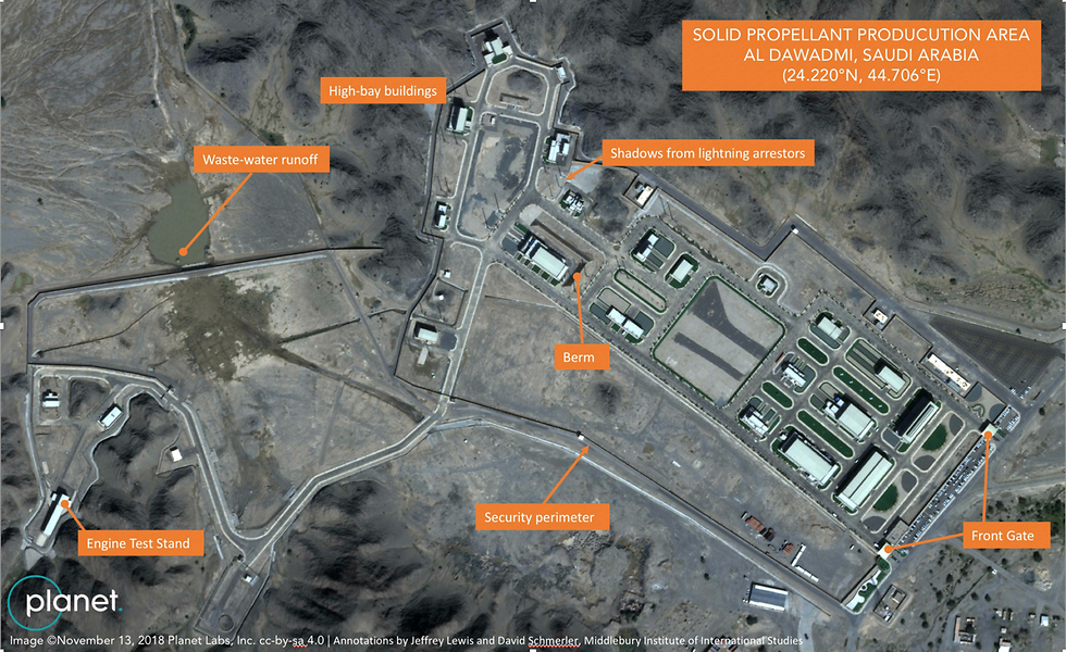 Satellite images indicate Saudis are testing ballistic missiles (Photo: AP)