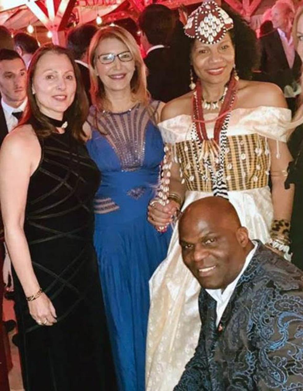 מלכת קונגו, נסיך קונגו, רונית רפאל ואביבה רז-שכטר שכטר (צילום: דניאל אופלינגר)