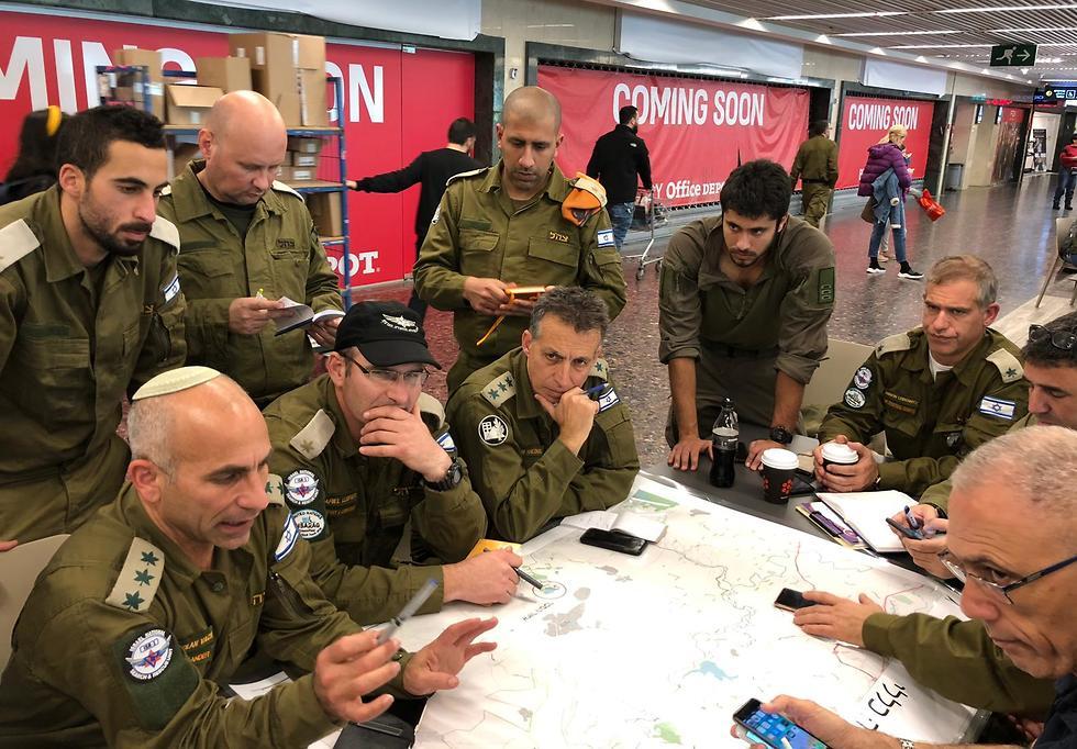 IDF search and rescue team in Brazil (Photo: IDF Spokesperson's Unit)