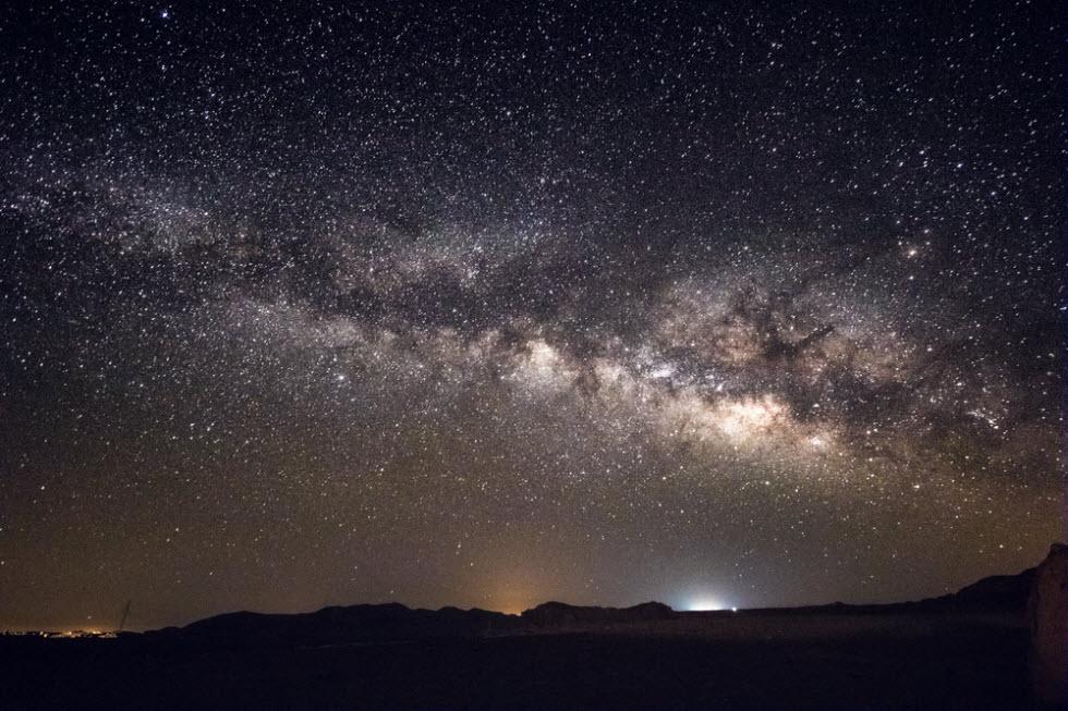 כוכבים אור הזודיאק שביל החלב (צילום: shutterstock)