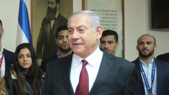 Премьер-министр и лидер партии Ликуд Биньямин Нетаниягу. Фото: Орен Аxарони