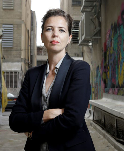 האדריכלית אלס ורבקל, שותפה במשרד דרמן-ורבקל שערך את הפרק בתוכנית האסטרטגית של ת''א-יפו (צילום: עמית שעל)