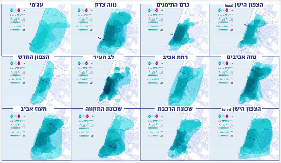 לכל אחד מהם, תל אביב משלו: בכל שכונה ושכונה מציירים תל אביב אחרת (מפה: דרמן ורבקל אדריכלות)