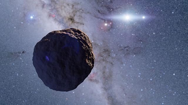 סלע אבן התגלה קצה החלל חגורת קויפר (הדמיה: קו ארימצו)