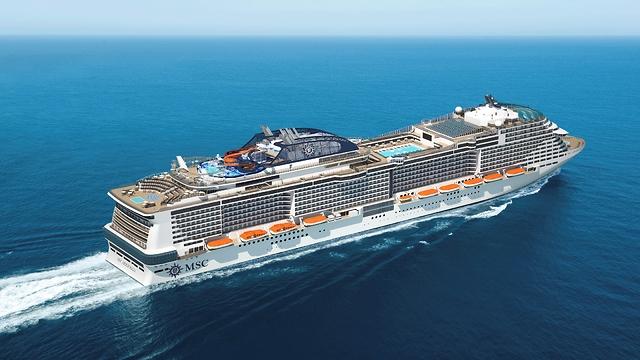 אוניית הקרוזים החדשה של MSC - בליסימה (צילום: MSC)