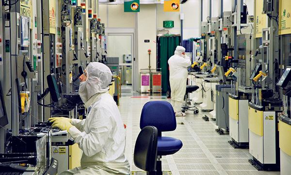 Chip production at Intel Israel