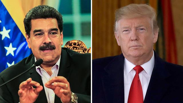 ניקולס מדורו נשיא ונצואלה דונלד טראמפ נשיא ארה