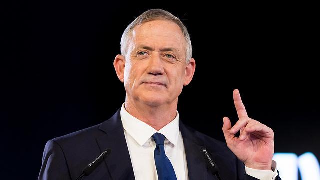 בני גנץ חוסן לישראל בחירות 2019 (צילום: EPA)