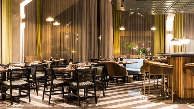 02 restaurant at the Inbal Hotel in Jerusalem (Photo: Yonatan Ben Haim)