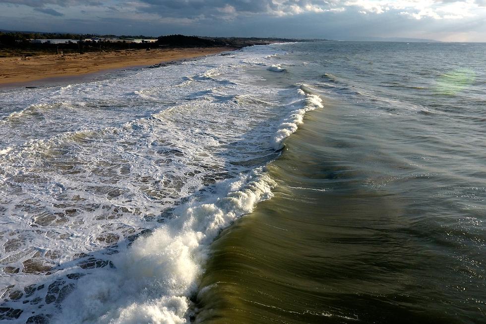 חוף בצת (צילום: ליאור חורש)
